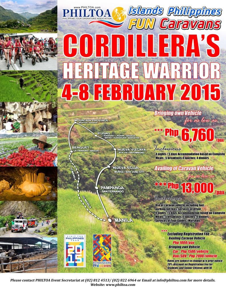 Cordillera Heritage Warrior 2015LR